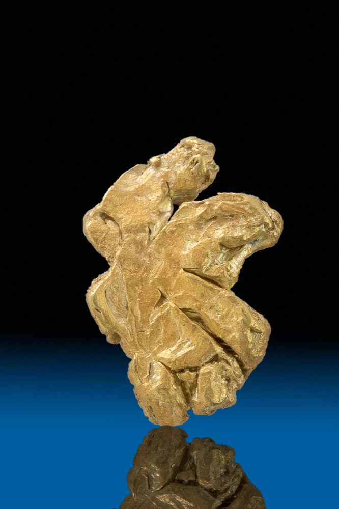 Unique and Rare - Gold Crystal from Mt. Kare, Papua New Guinea