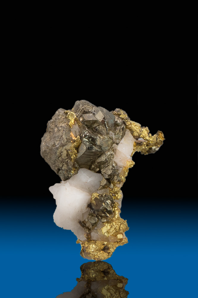 Gold with Quartz and Arsenopyrite from Grass Valley, California