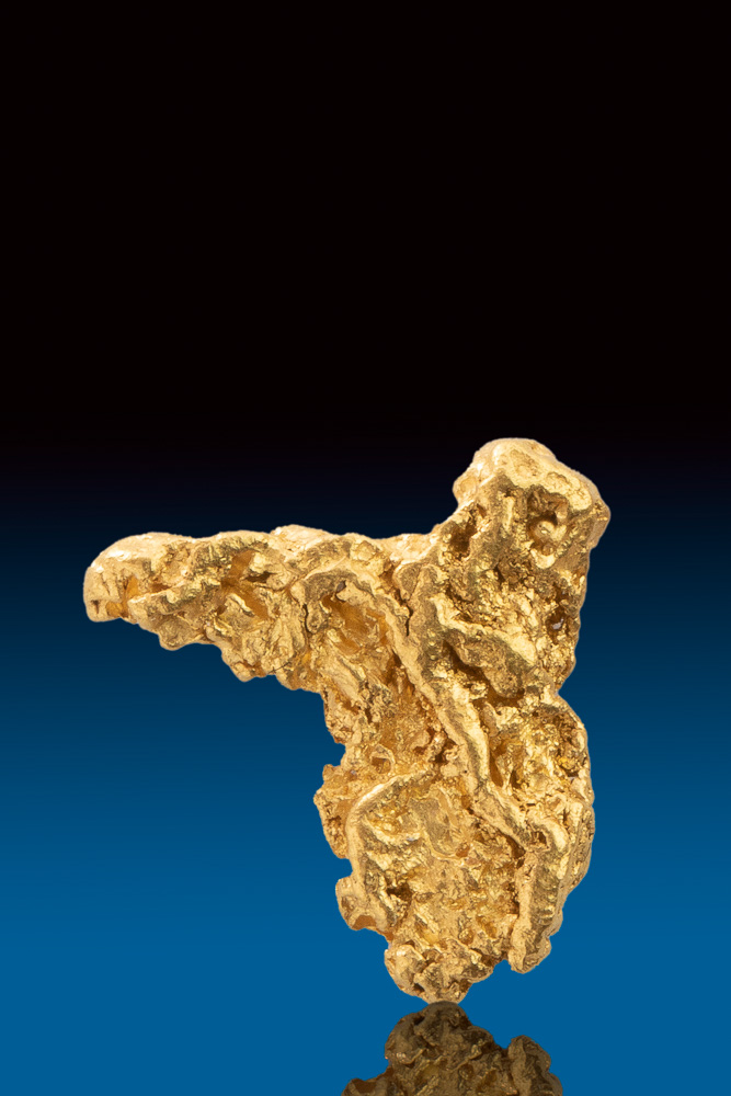 Unique Textured Natural Gold Nugget from Australia