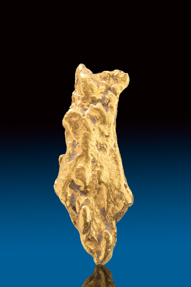 Rare Textured Natural Gold Nugget from Australia
