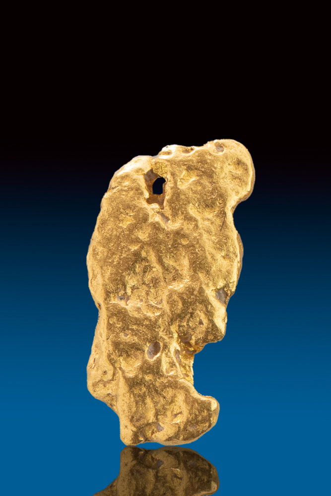 Brilliant Natural Gold Nugget form Australia