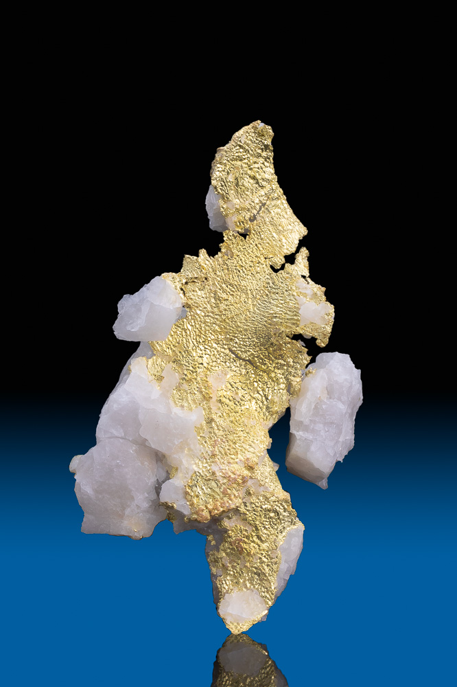 Stunning Natural Gold in Quartz Specimen - Harvard Gold Mine