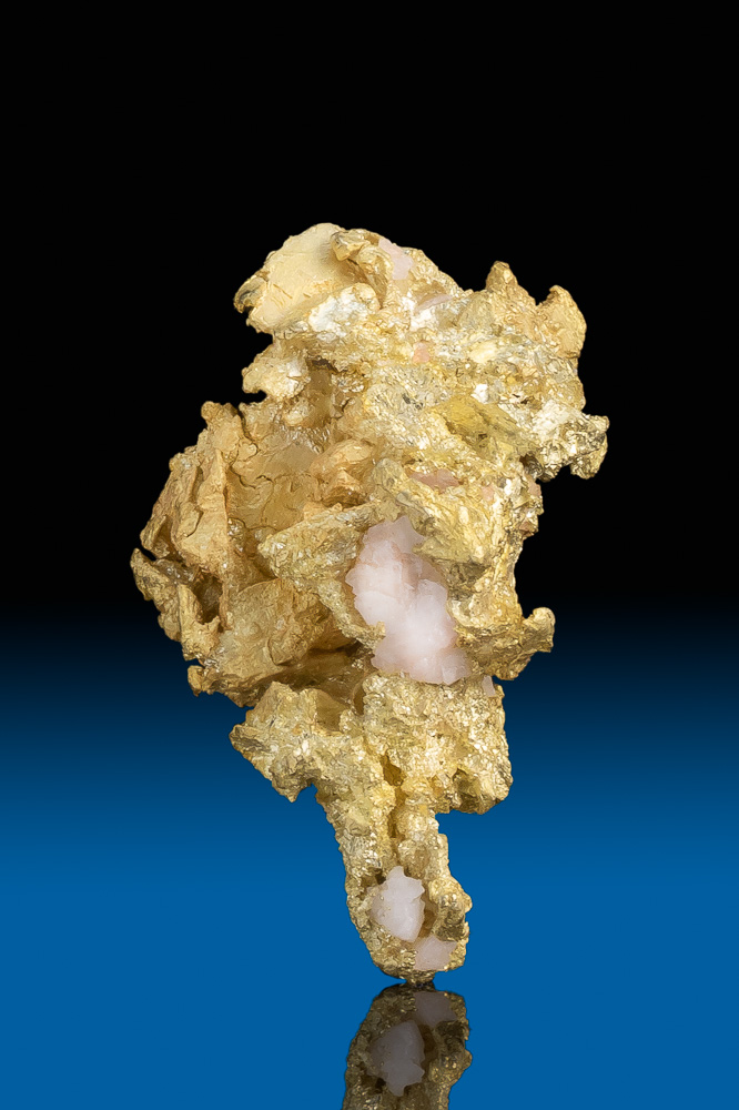 Brilliant Crystalline Gold with Quartz - Yandal, Australia