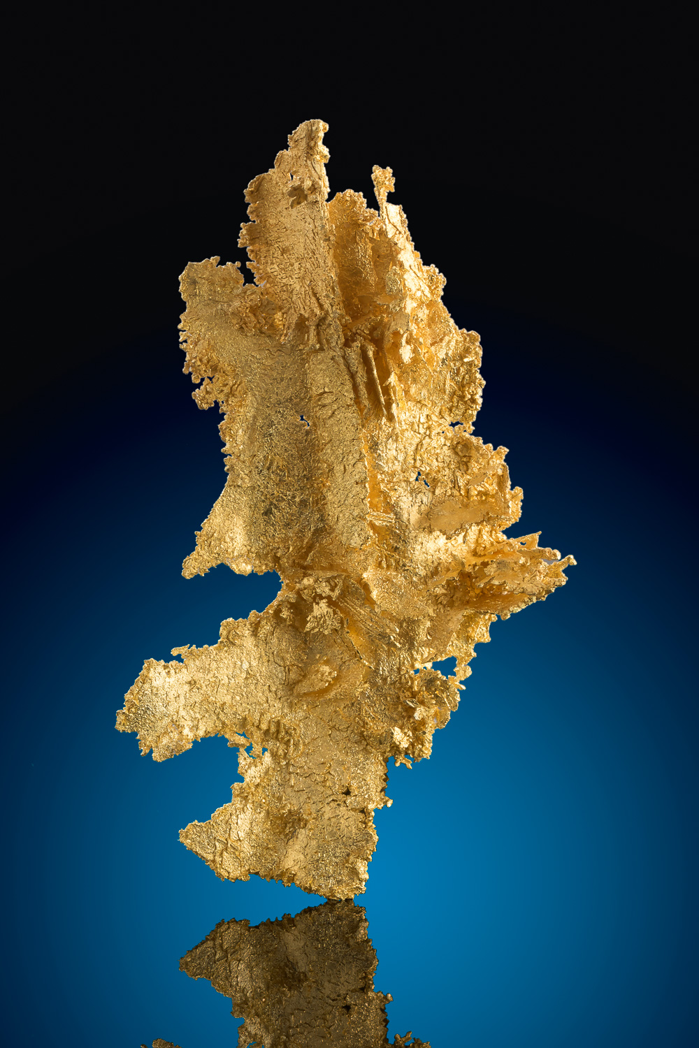 Large Well Crystalized Gold Specimen from Round Mountain