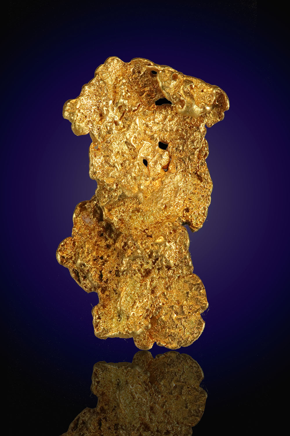 Thin Leaf Gold Nugget From Nevada - Eugene Mountains