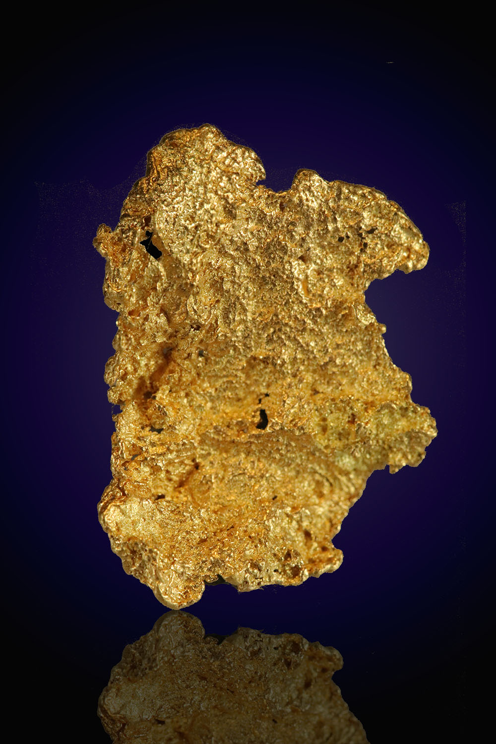 Beautiful Leaf Gold Nugget from Nevada - Eugene Mountains