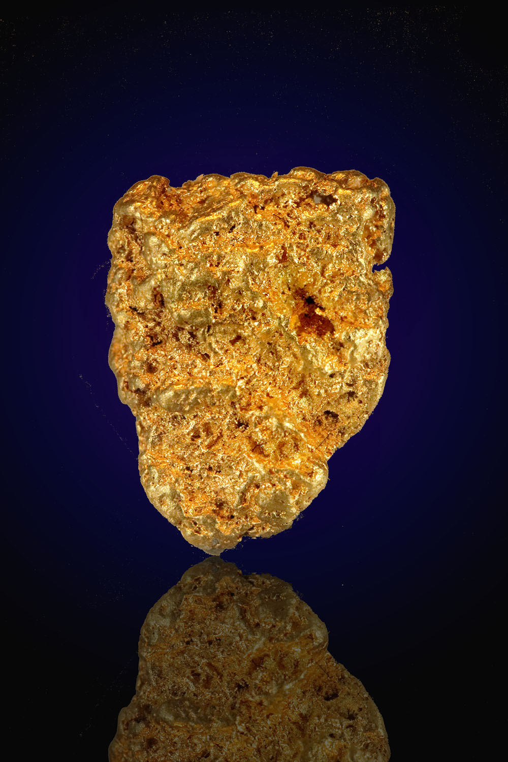 Sponge Gold Nugget from Eugene Mountains, Nevada