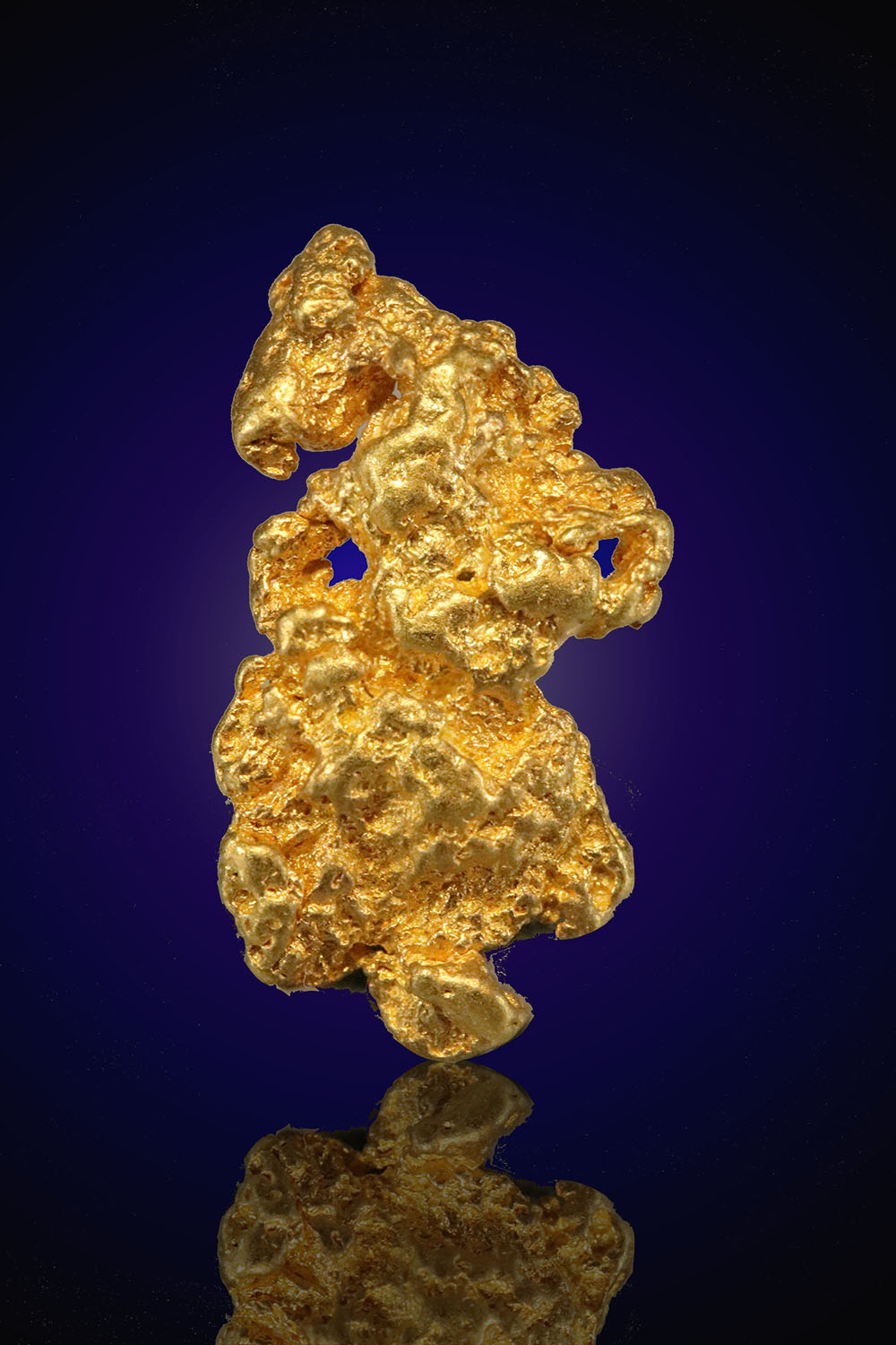 Nevada Gold Nugget - Elongated and Heavy Texture