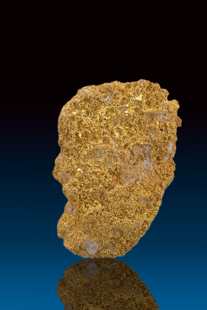 Unique Sponge Gold Nugget from Ten Mile