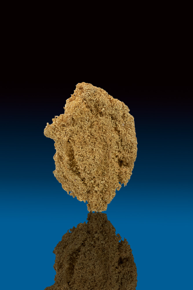 Intricate Sponge Gold Nugget from Ten Mile, Nevada