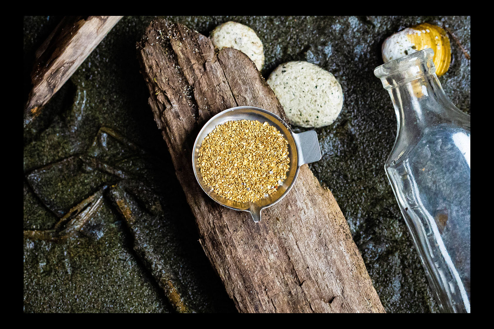 Pacific Northwest Coastal Flour Gold - 3 Gram Vial of Gold