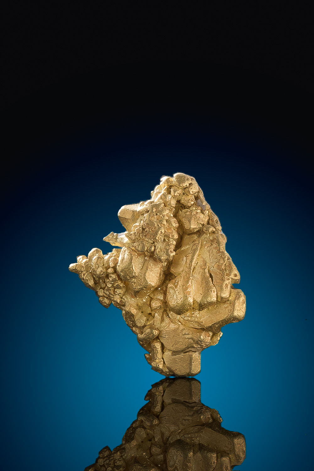 Mt. Kare - Papua New Guinea - Facted Gold Cluster