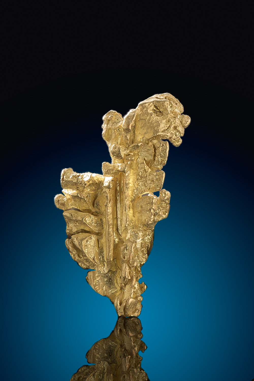 Native Mt Kare, Papua New Guinea - Natural Gold Crystal Specimen