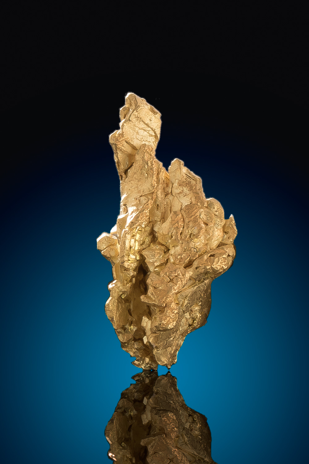Natural Gold crystal Specimen from Mt. Kare