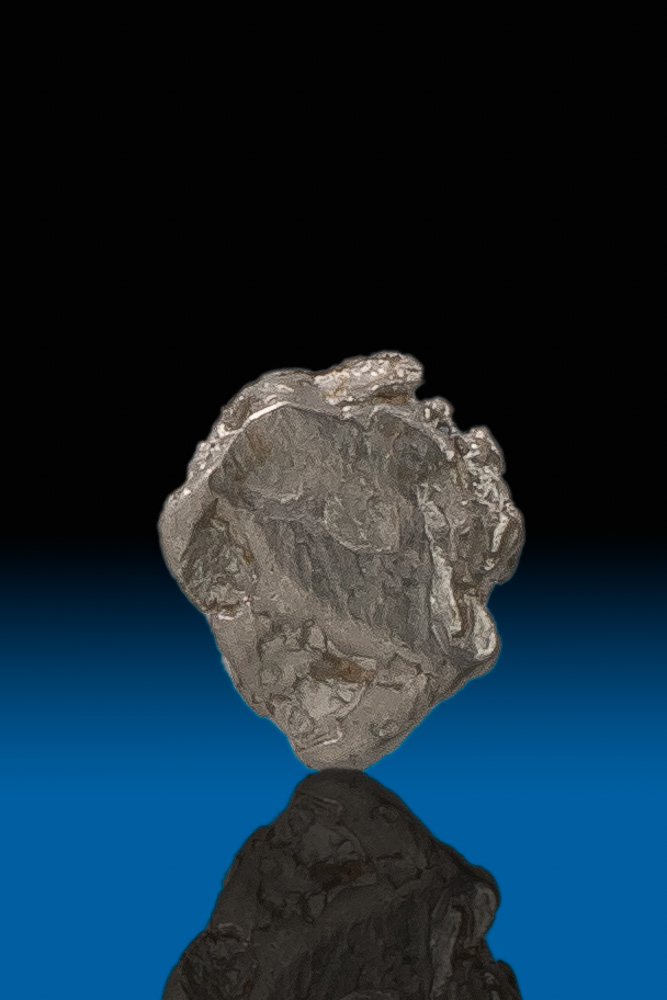 Round and Dense - Natural Platinum Nugget from Columbia - Click Image to Close