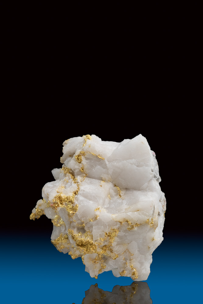 Brilliant Gold in Quartz Nugget, Meteghan River, Nova Scotia