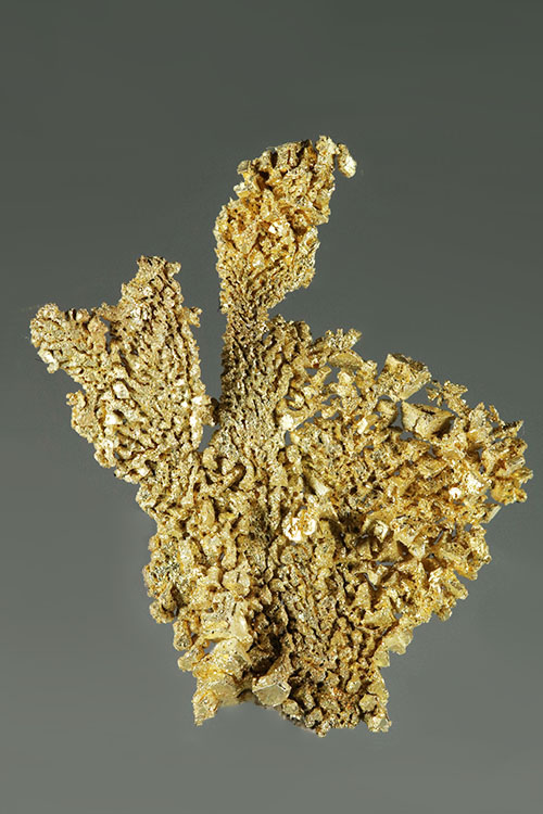 Does It Get Any Better? Round Mountain Gold Crystal Specimen - Click Image to Close