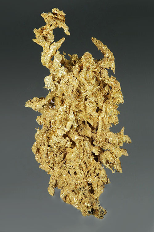 Micro Crystal Gold Specimen From Round Mountain