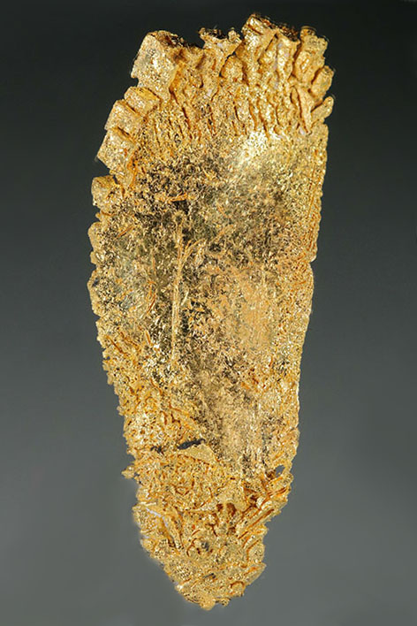 """Big Foot"" Round Mountain Gold Crystal Specimen"