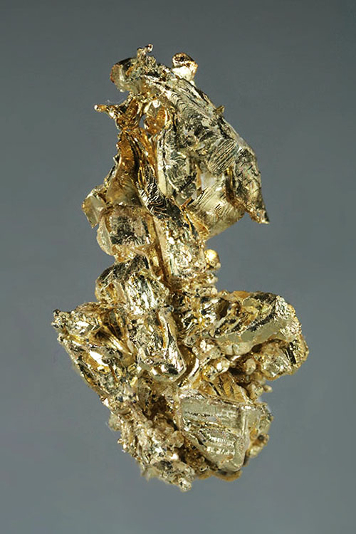 A Mass of Electrum Gold Crystals - Round Mountain
