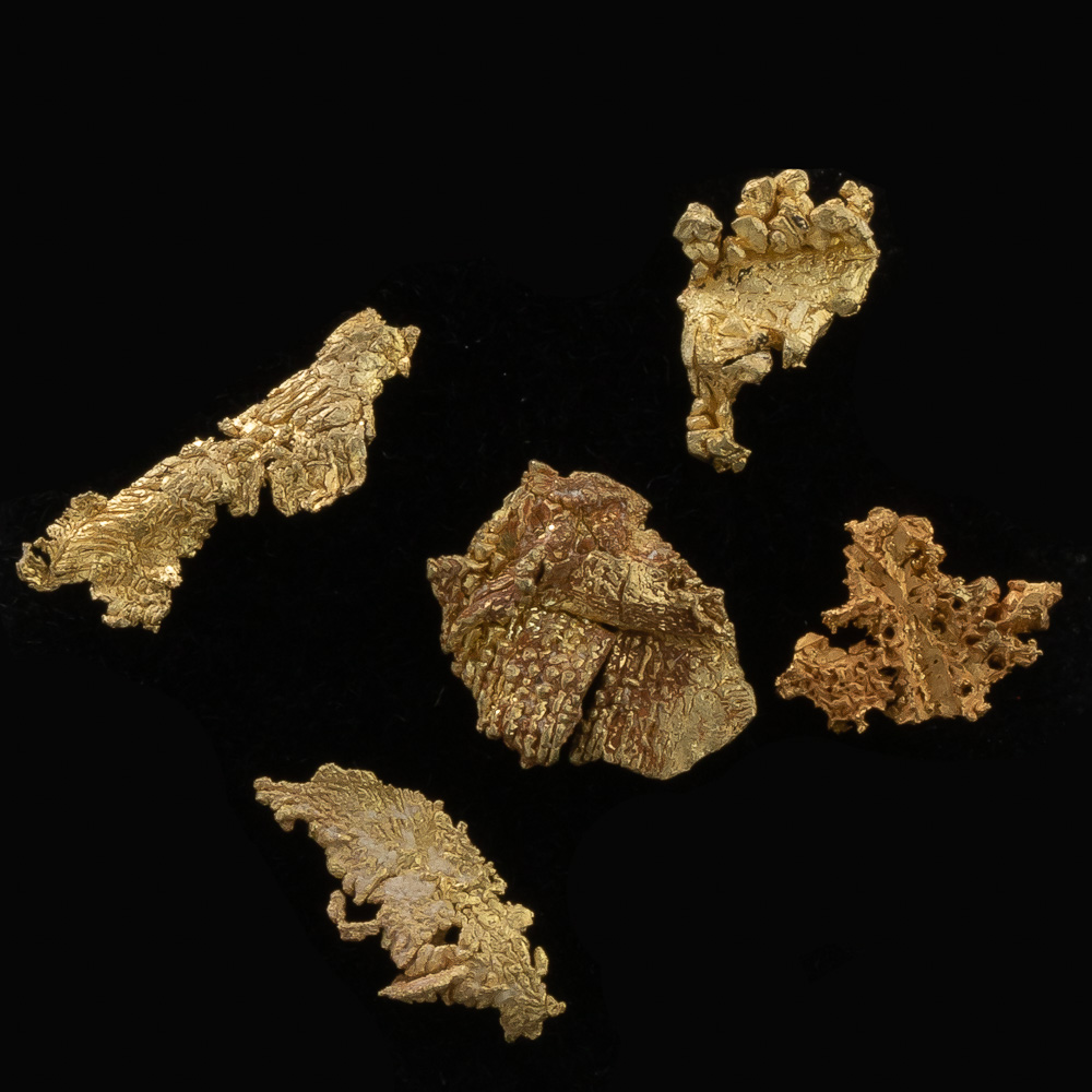 Brilliant Crystallized Gold from Round Mountain - Lot 102