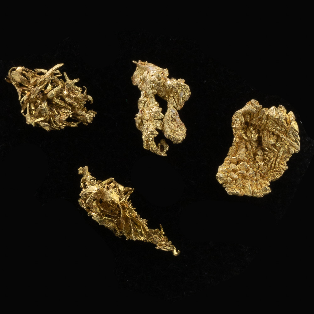 Sharp Crystallized Gold from Round Mountain - Lot 106