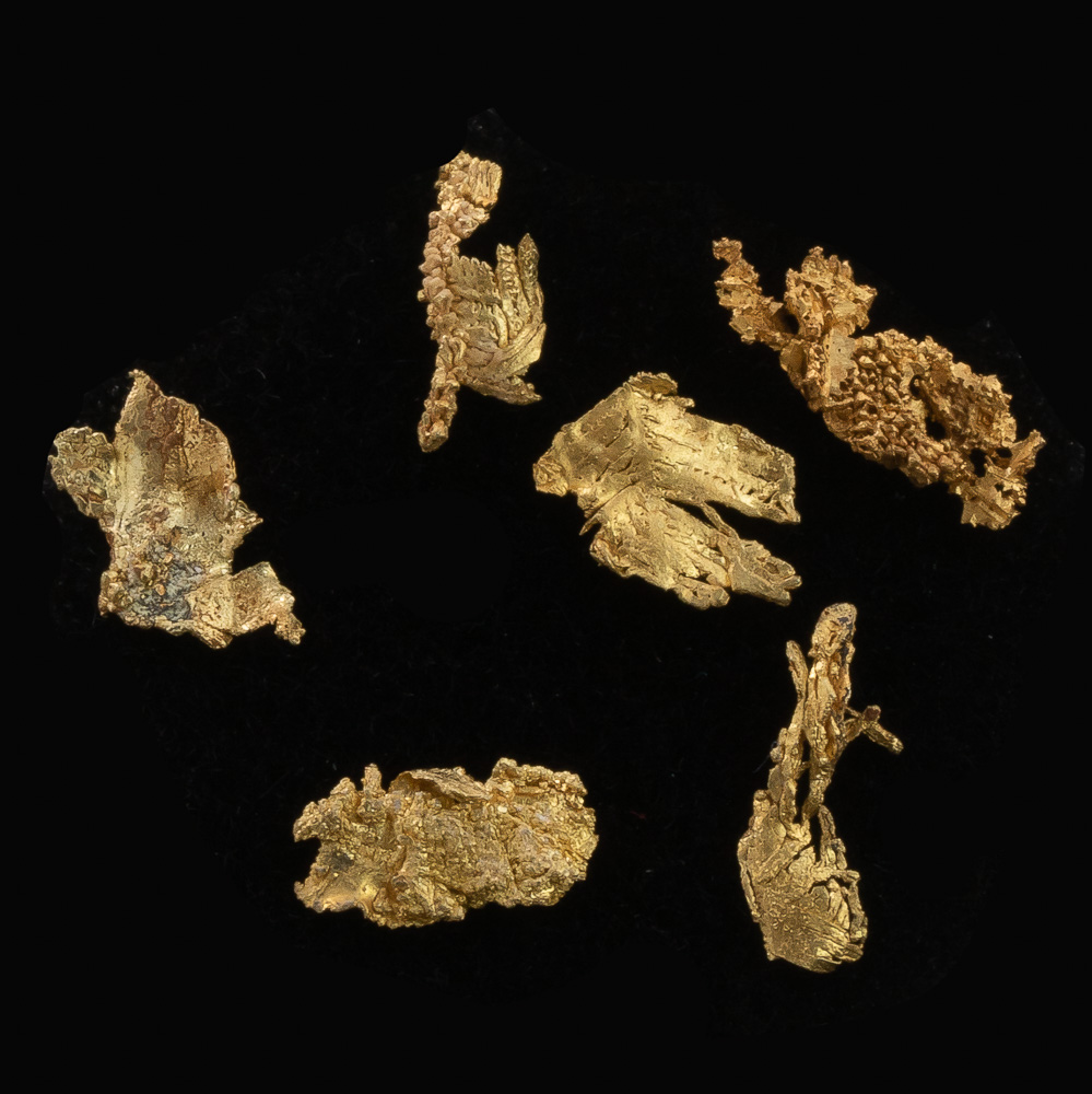 Beautiful Gold Crystals - Round Mountain - Lot 113