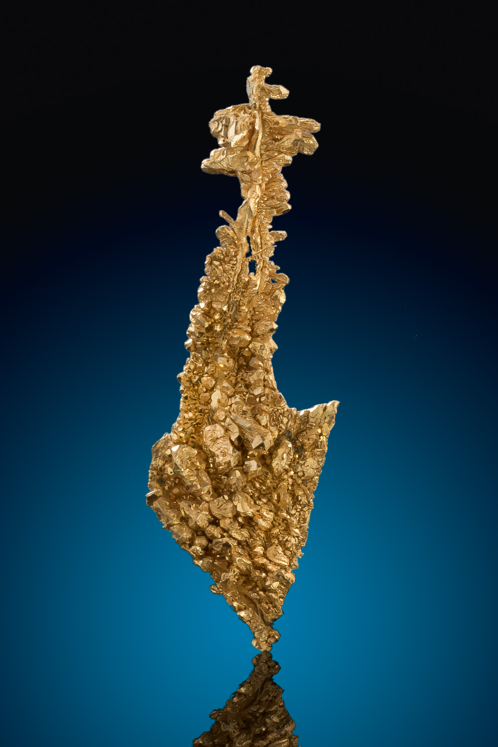 Long and Pointed Gold Crystal - Round Mountain, Nevada
