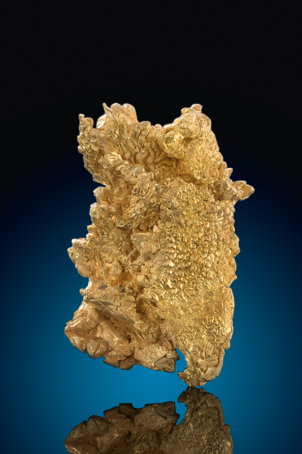 Brilliant Crystal Structure - Natural Gold Crystal