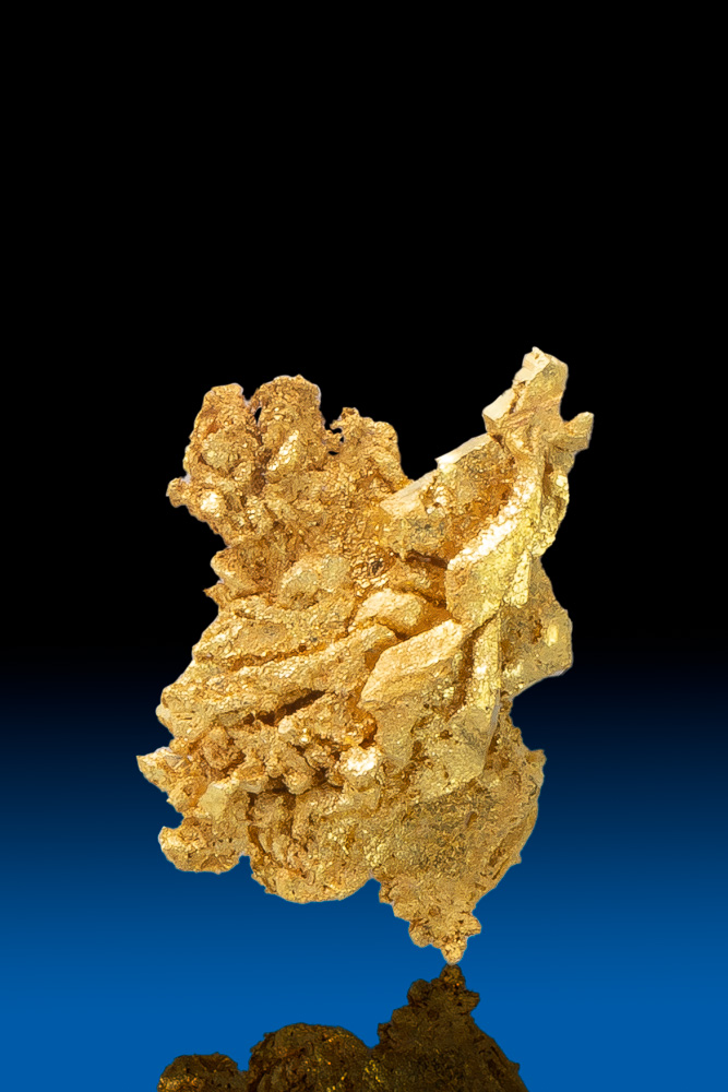 Beautiful Formation - Natural Gold Crystal from Round Mountain