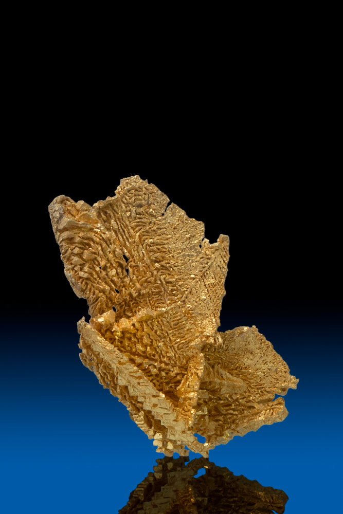 1000 Trigon Crystals - Precision Gold Crystal - Round Mtn., NV