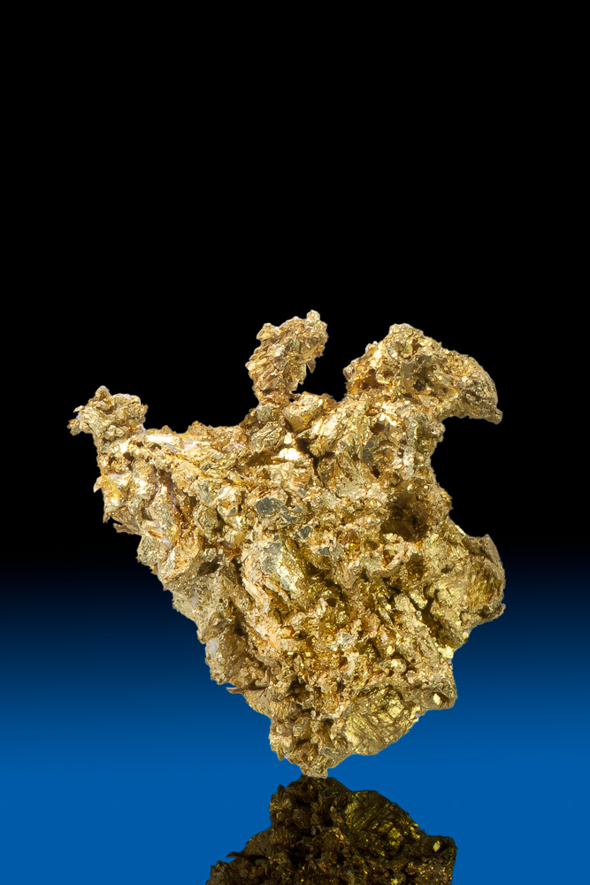 Chunky Crystalized Gold Specimen - Round Mountain Mine