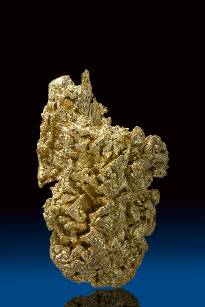 Beautiful Natural Gold Crystal from Round Mountain Mine