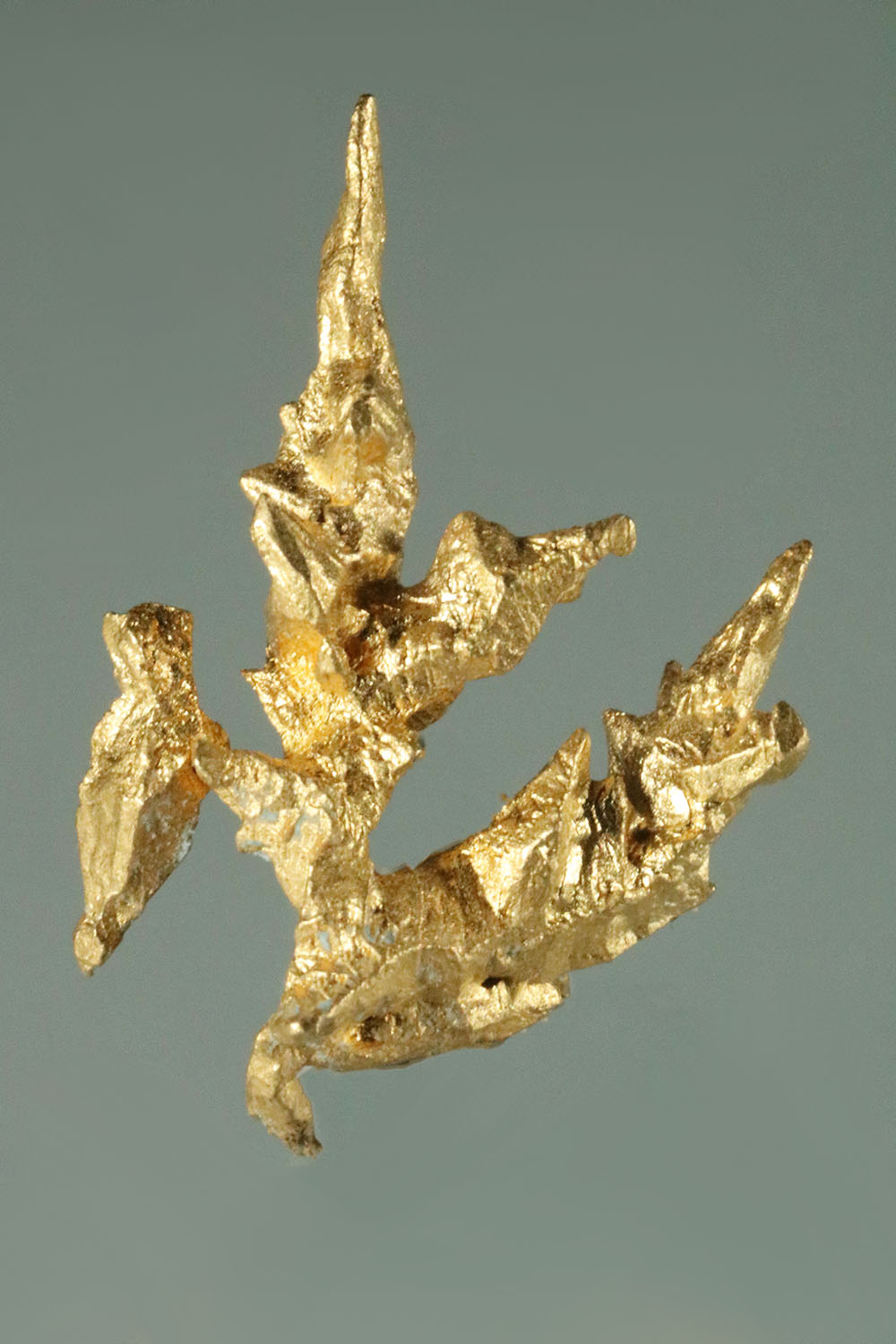 Natural Faceted and Sharp Venezuela Gold Crystal