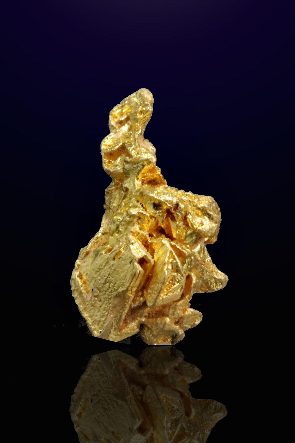 Tappered Gold Crystal - Venezuela