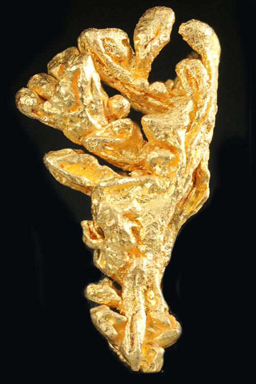Venezuelan Dendritic Shaped Gold Crystal