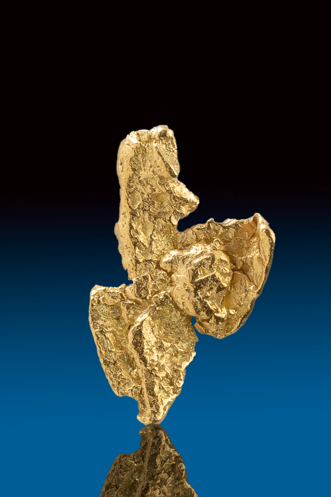 Interesting Unique Natural Gold Nugget from the Yukon