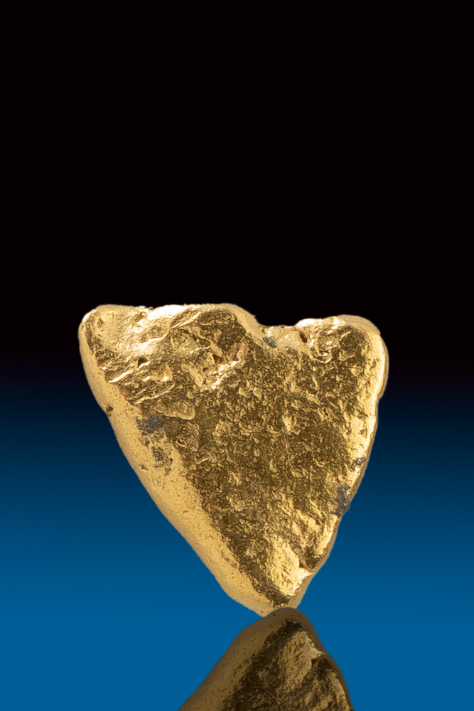 "Beautiful Natural Gold Nugget ""Triangle"" - Yukon"