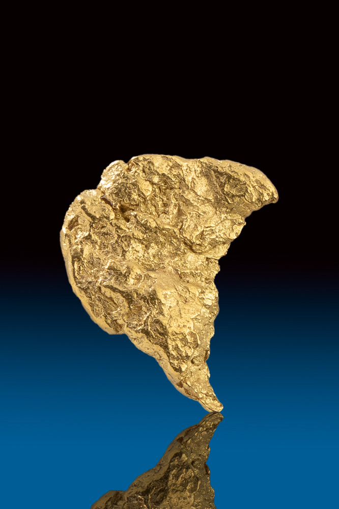 Beautifully Textured Natural Yukon Gold Nugget