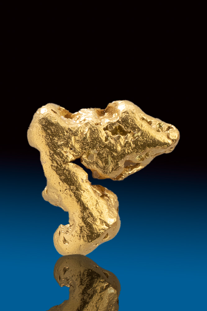 Unique Natural Gold Yukon Nugget