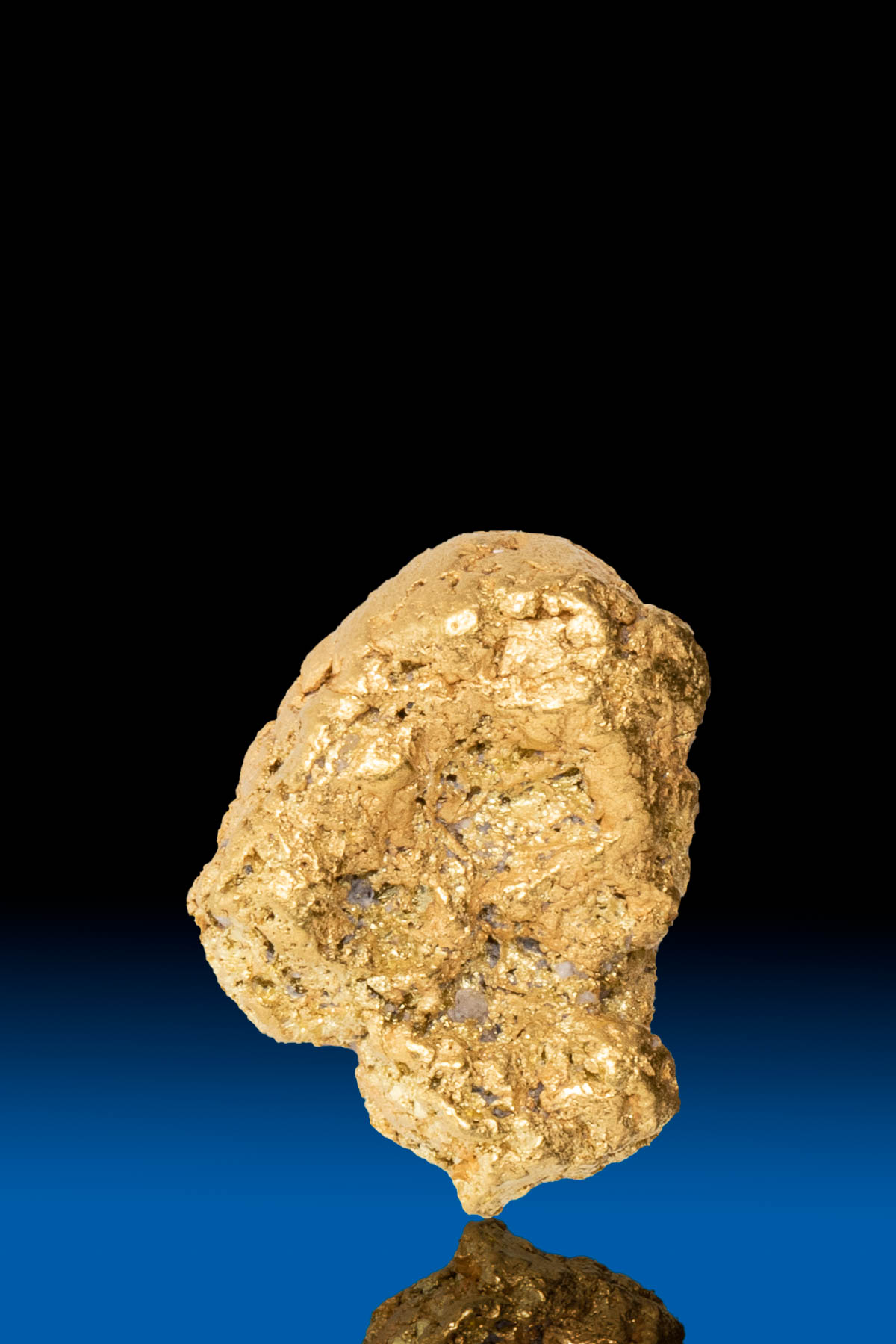 Rounded Rugged Yukon Natural Gold Nugget - 3.21 grams