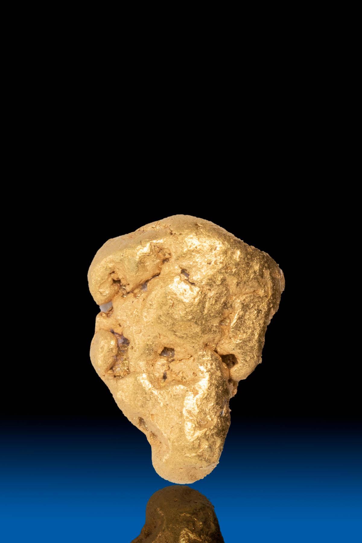 Funnel Shaped Natural Yukon Gold Nugget - 3.01 grams
