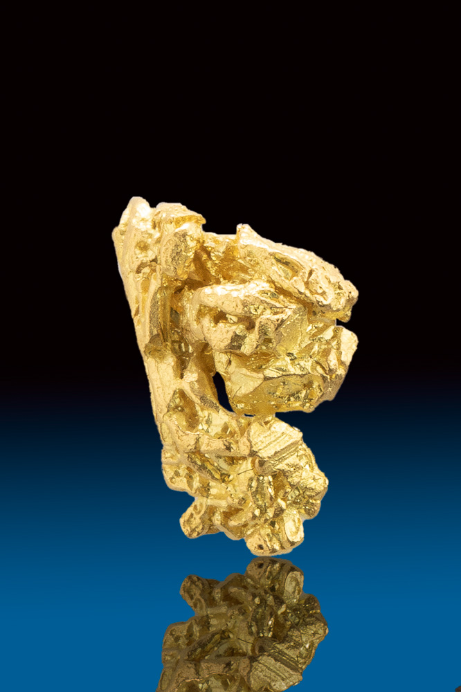 Natural Gold Crystal Cluster from the Yukon