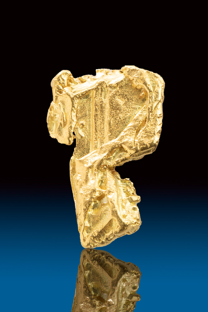 Complex and Distinctive Gold Crystal from the Yukon