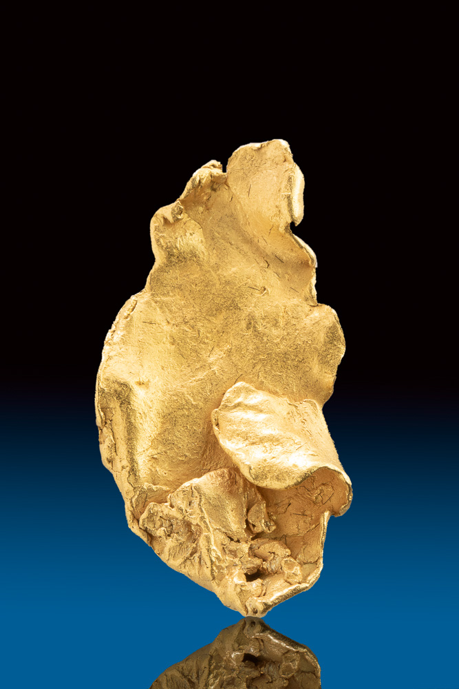 Large Leaf Gold Specimen from the Yukon - Click Image to Close