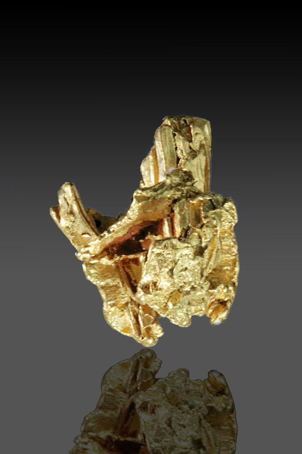Dimensional Gold Crystal from the Yukon - Very rare