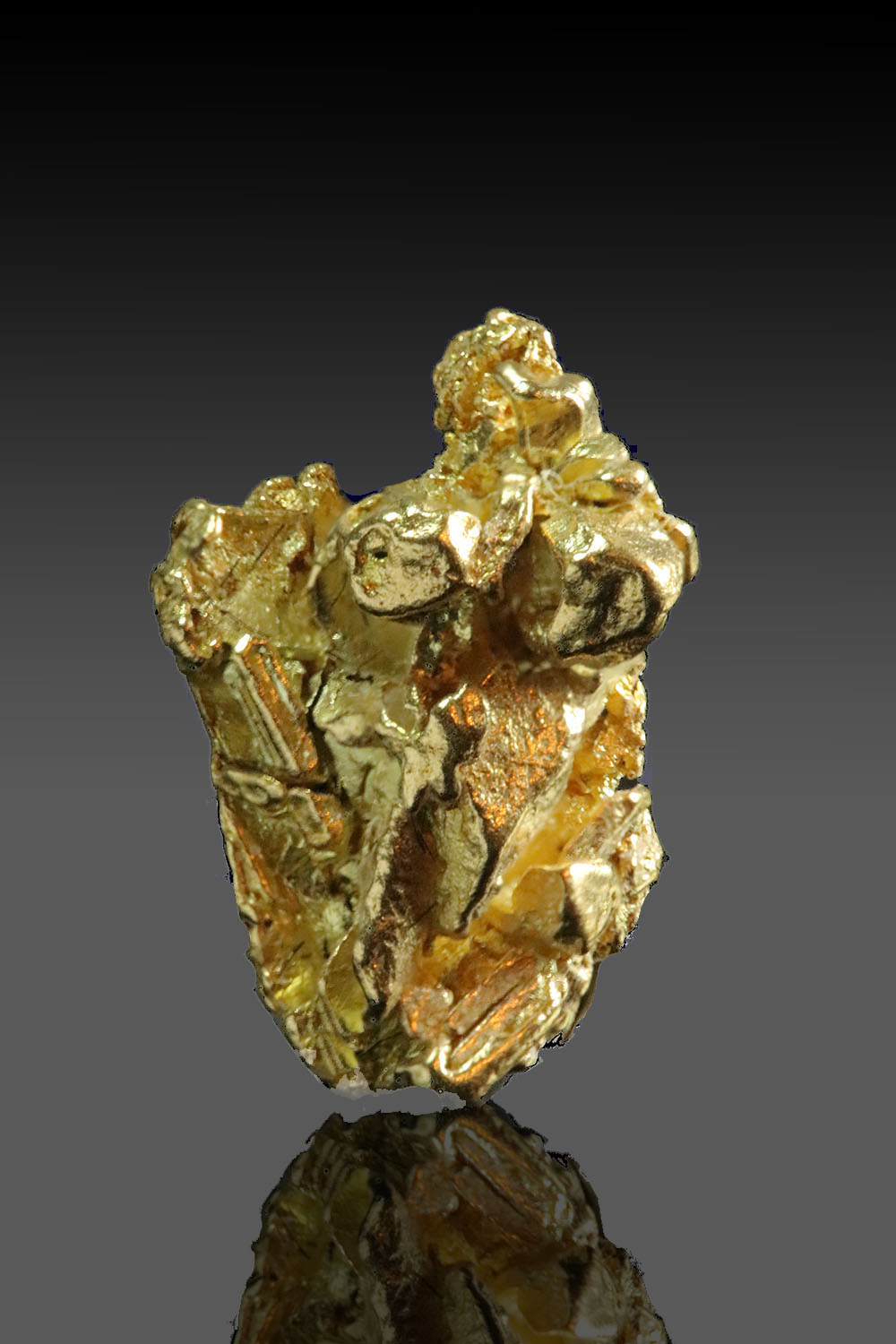 Well Crystalized Gold Cluster - Yukon
