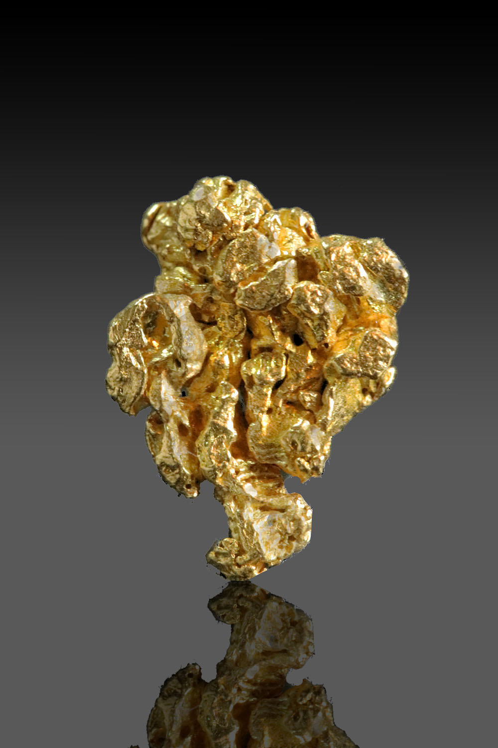 Chunky and Crystalized Natrual Gold Nugget from the Yukon