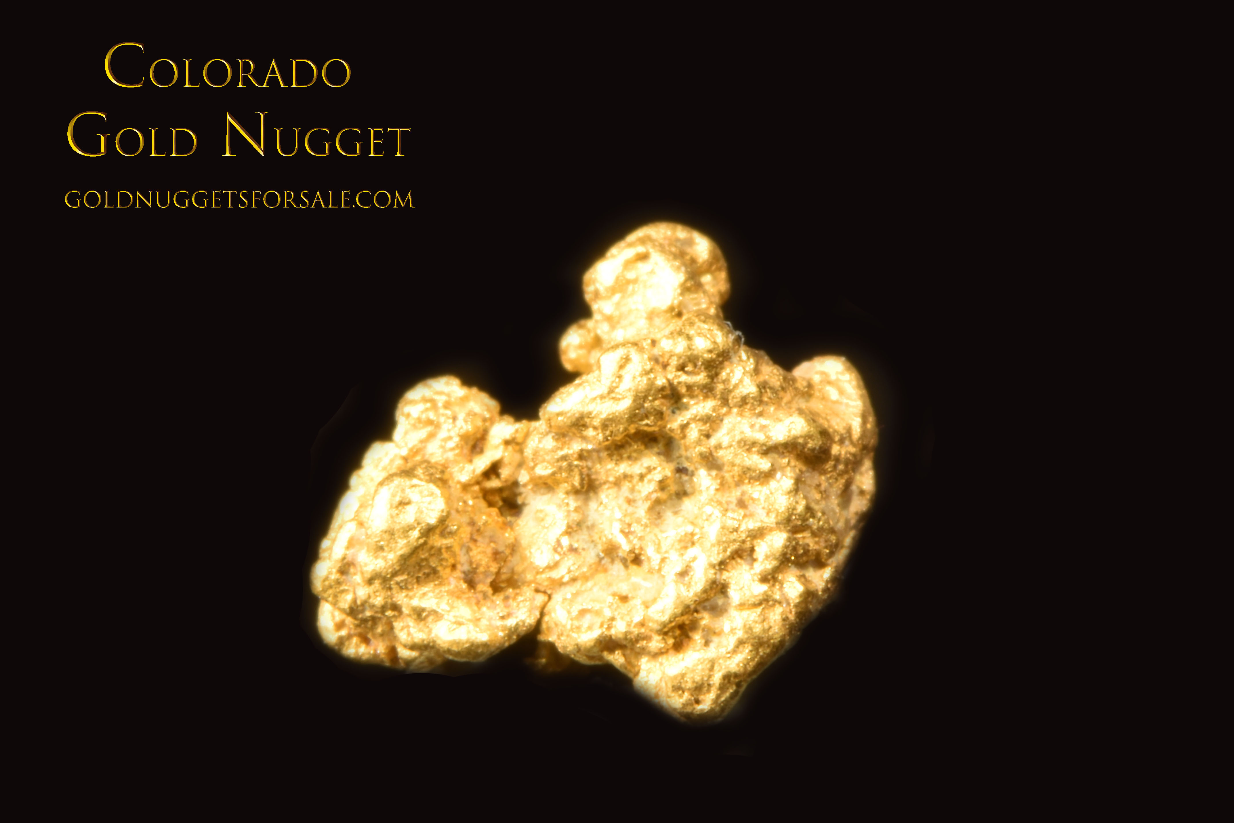 Great Price on this Raw Colorado Gold Nugget