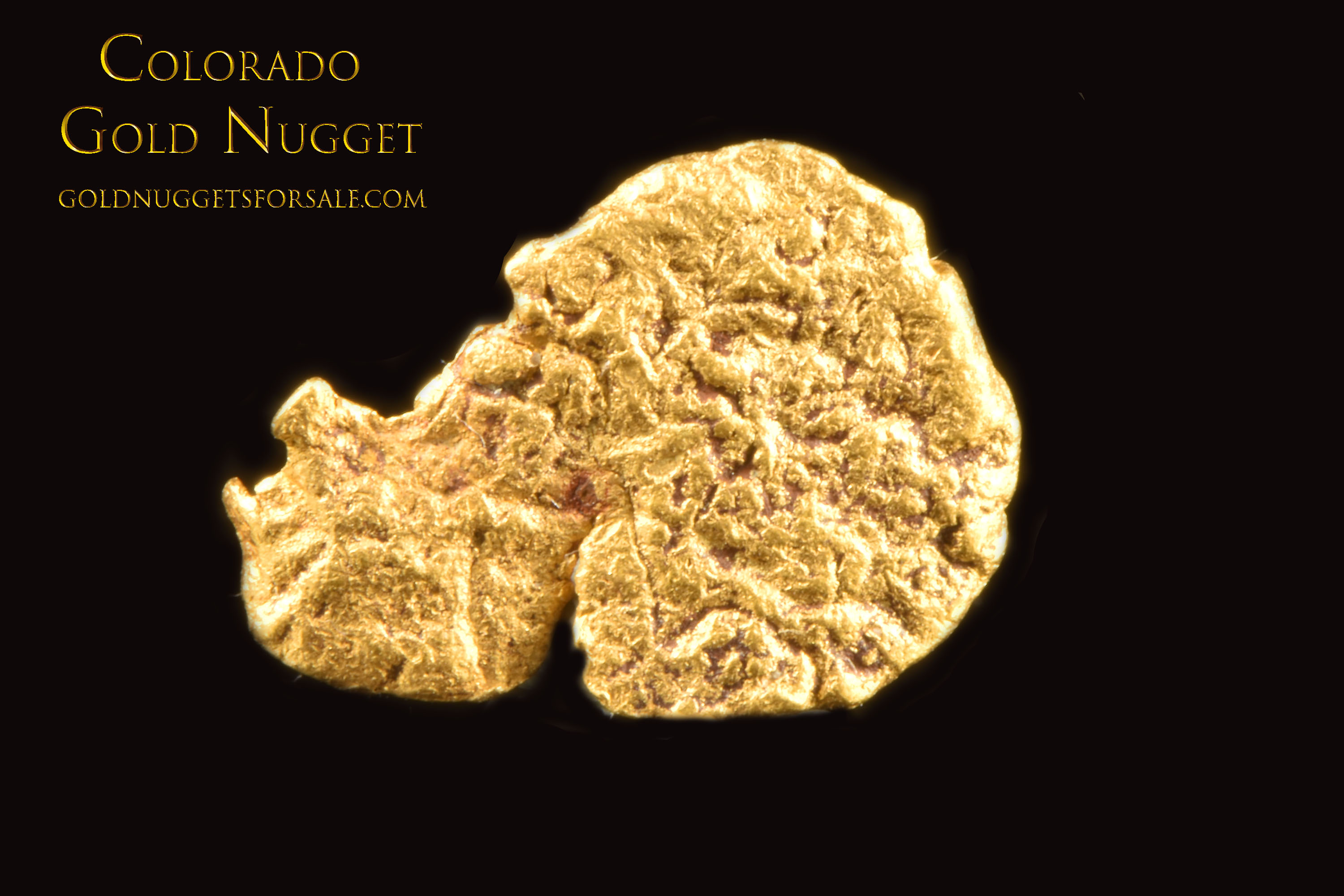 Jewelry/Investment Grade Gold Nugget From Colorado